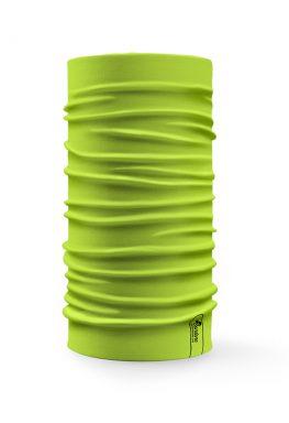 Bandana tubolare multifunzione a tinta unita di colore verde mela
