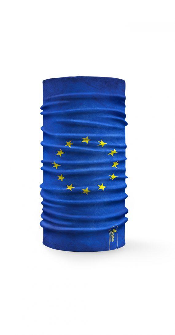 Bandana tubolare raffigurante la bandiera dell' Unione Europea