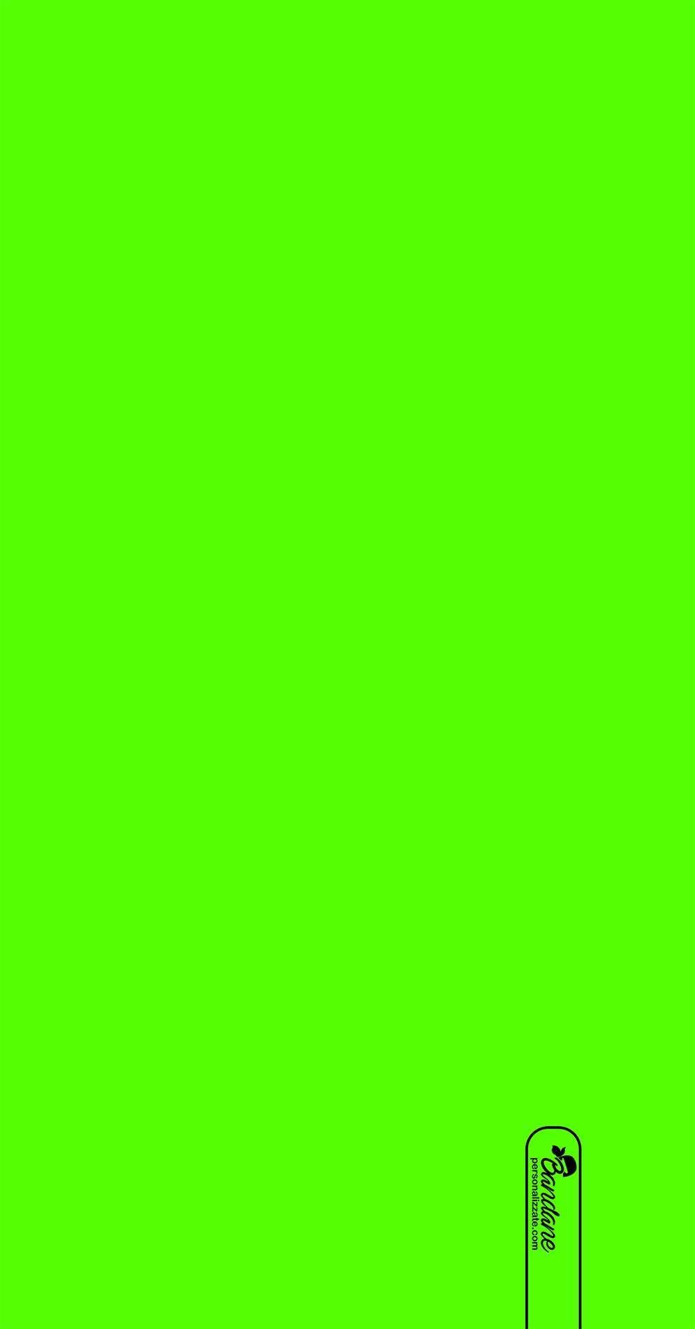 Sfondo verde fluo tinta unita
