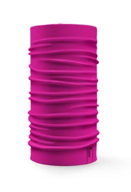Bandana tubolare multifunzione a tinta unita di colore fucsia