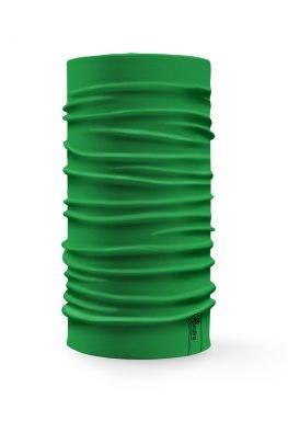 Bandana tubolare multifunzione a tinta unita di colore verde