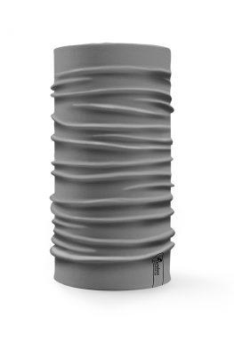 Bandana tubolare multifunzione a tinta unita di colore grigio