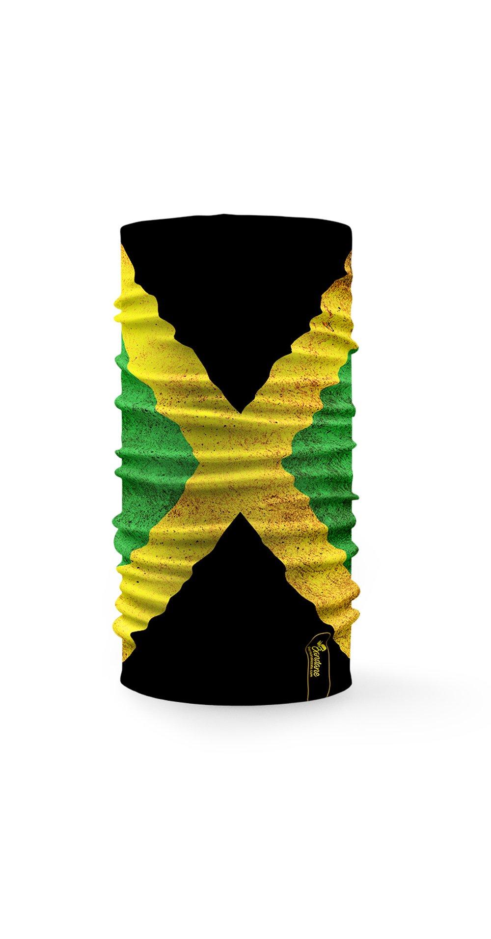 Bandana tubolare raffigurante la bandiera della Jamaica