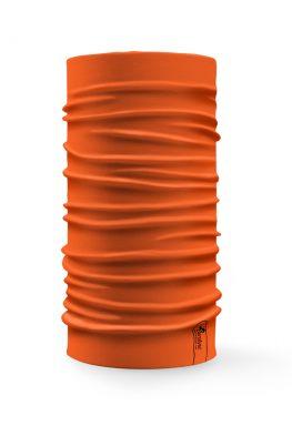 Bandana tubolare multifunzione a tinta unita di colore arancione