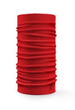 Bandana tubolare multifunzione a tinta unita di colore rosso