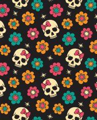 skullsflowers_