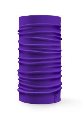 Bandana tubolare multifunzione a tinta unita di colore viola