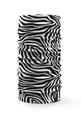 scaldacollo con stampa Zebra