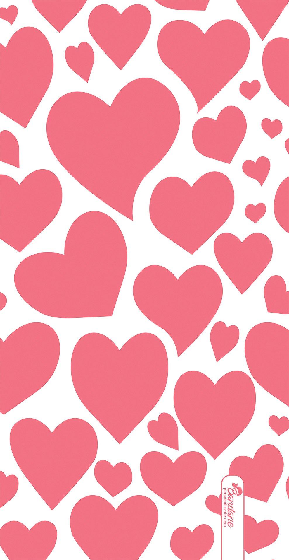 Scaldacollo pioggia di cuori san valentino for Immagini di cuori rossi