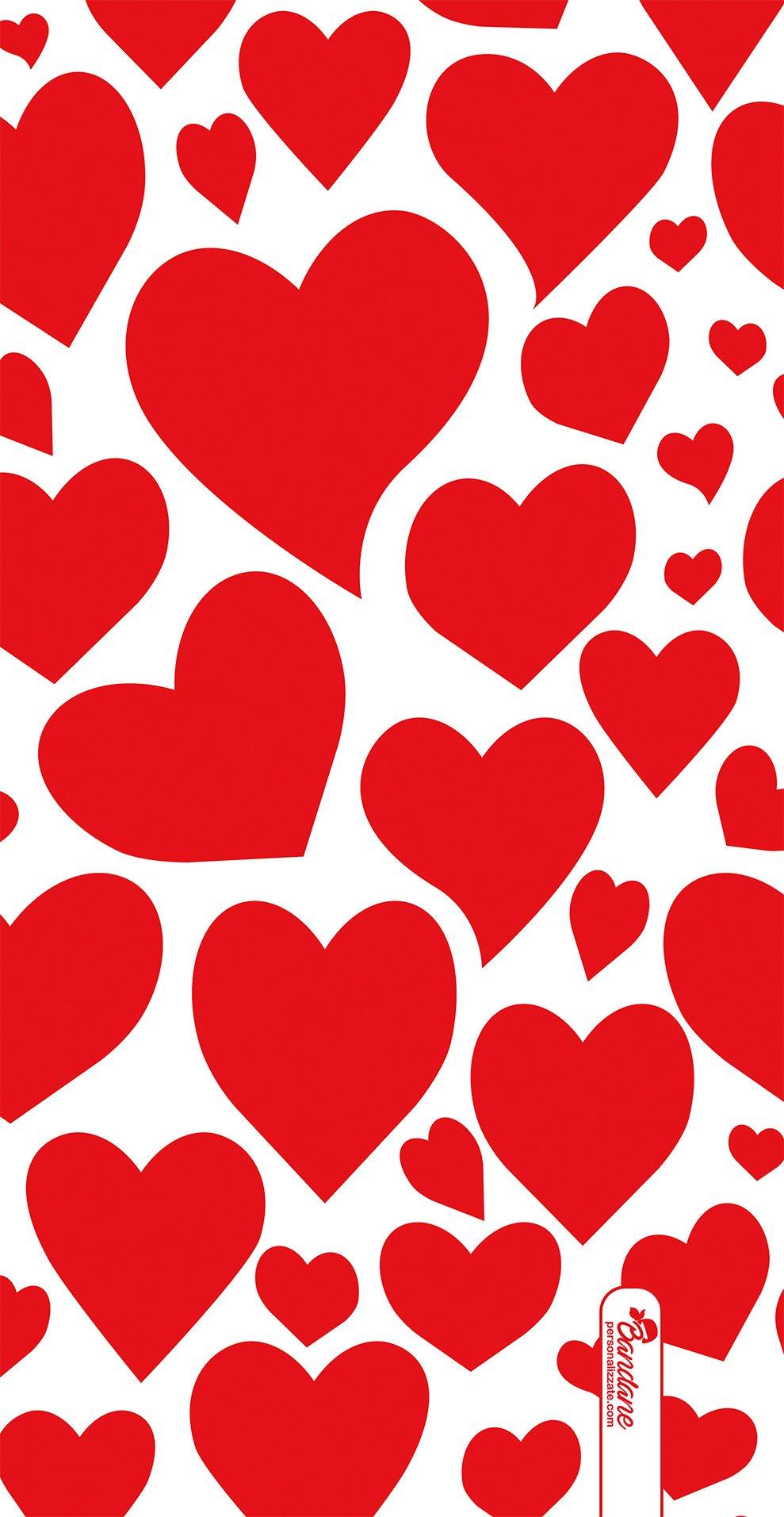 Scaldacollo cuori rossi per san valentino for Immagini di cuori rossi