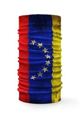 Scaldacollo Bandana Multifunzione Venezuela Bandiera Flag