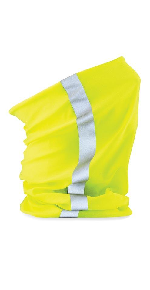 bandana tubolare alta visibilita