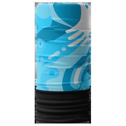 bandana tubolare invernale con logo