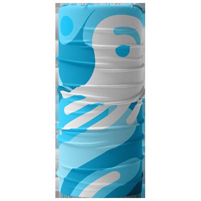 bandana tubolare con logo
