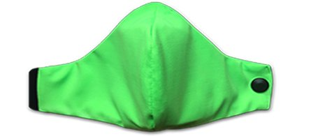 Mascherina Lavabile con Filtro Verde